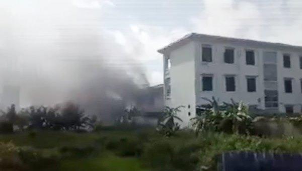 Hỏa hoạn tại trường mầm non ở Hà Nội