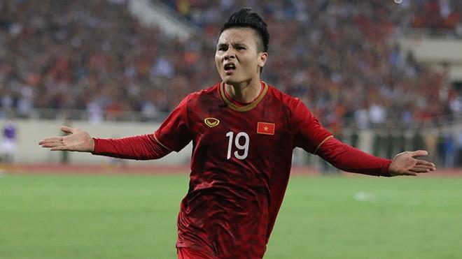 Cầu thủ Quang Hải.