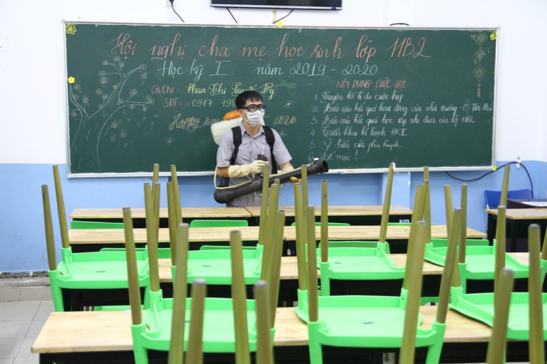 Đã có 41 tỉnh, thành phố báo cáo Bộ GD&ĐT về việc quyết định cho học sinh nghỉ học