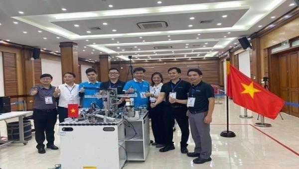 Việt Nam giành Huy chương vàng Kỹ năng nghề Cơ điện tử online châu Á - Thái Bình Dương
