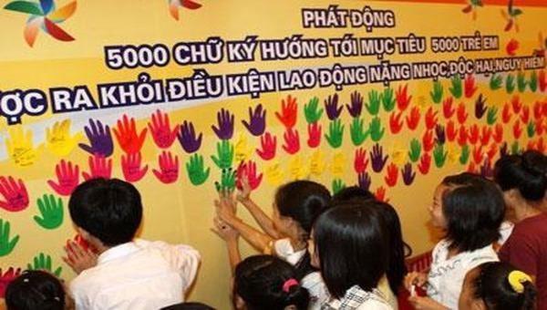 Phát động sáng tác ca khúc về phòng, chống lao động trẻ em
