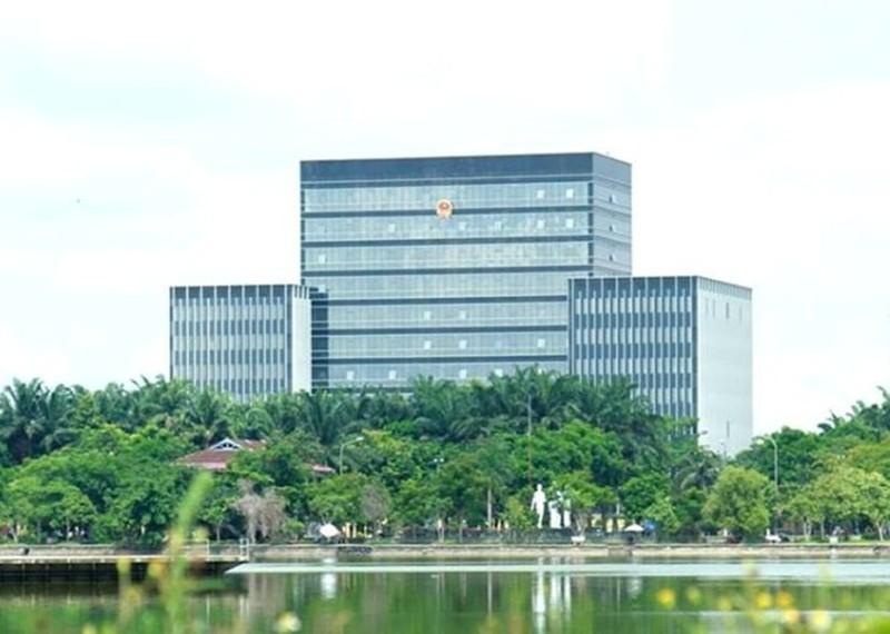 Trụ sở HĐND-UBND tỉnh Nghệ An.