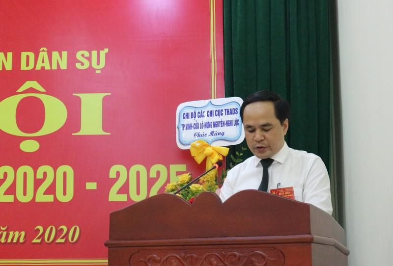 Đảng bộ Cục THADS Nghệ An tổ chức Đại hội III, nhiệm kỳ 2020-2025