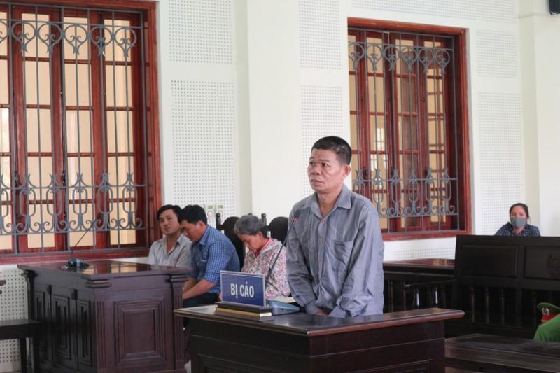 Bị cáo tại phiên tòa