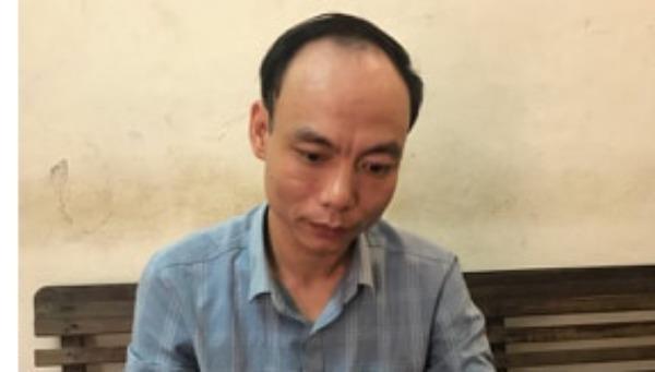 Đối tượng Nguyễn Kiên Trung.