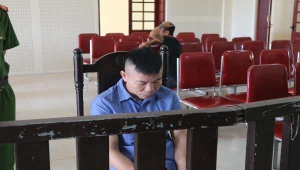Bị cáo Phan Trọng Thủy tại tòa