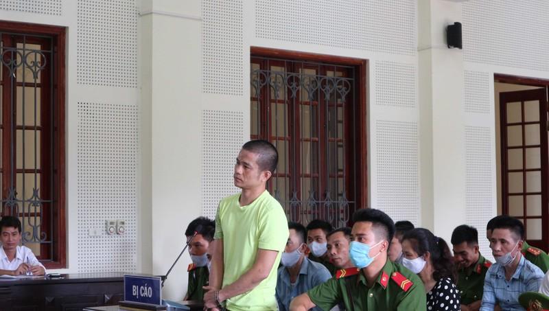 Bị cáo Lê Ngọc Sơn lĩnh án tử hình.