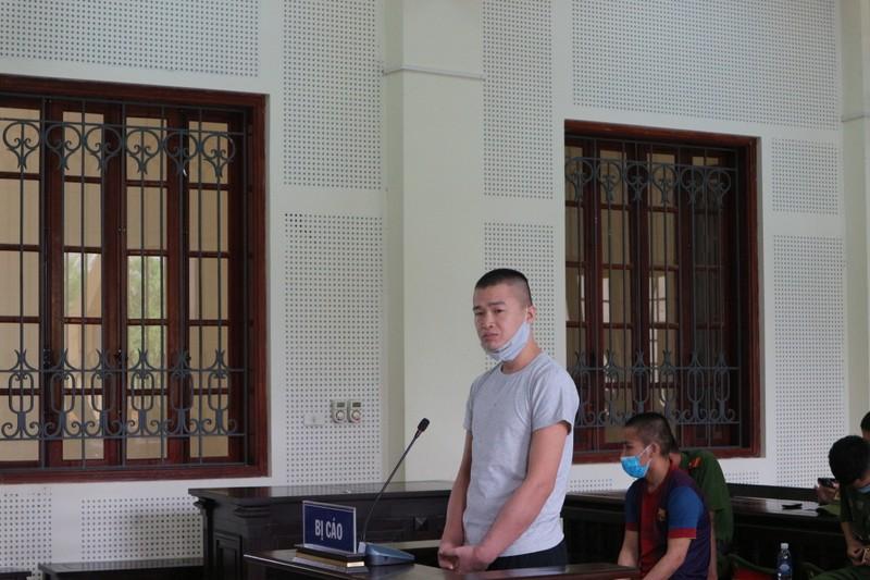 Bị cáo Hà Văn Duy tại tòa