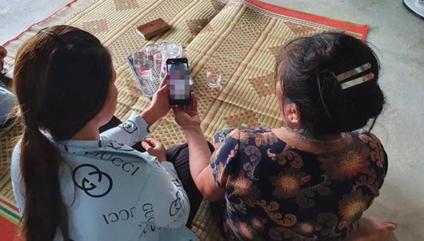 Clip do Bùi Đức Thuận quay được phát tán trên mạng xã hội.