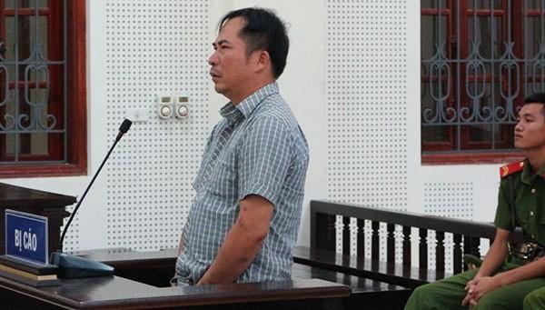 Bị cáo Nguyễn Trung Kiên