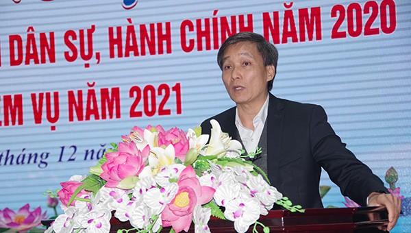 Nghệ An: Thi hành án dân sự năm 2020 vượt khó, hoàn thành chỉ tiêu
