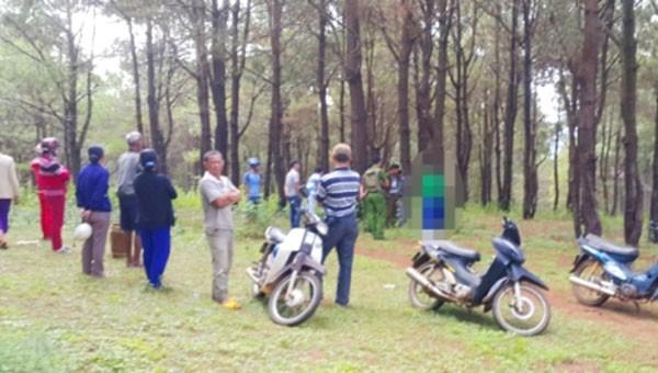 Điều tra vụ người đàn ông chết trong rừng với nhiều vết thương trên thi thể