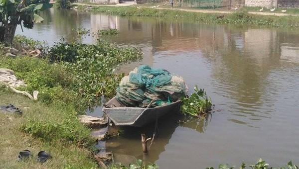 Khúc sông nơi xảy ra vụ đuối nước thương tâm