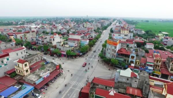 Huyện Phù Cừ (Hưng Yên) được công nhận đạt chuẩn nông thôn mới năm 2019