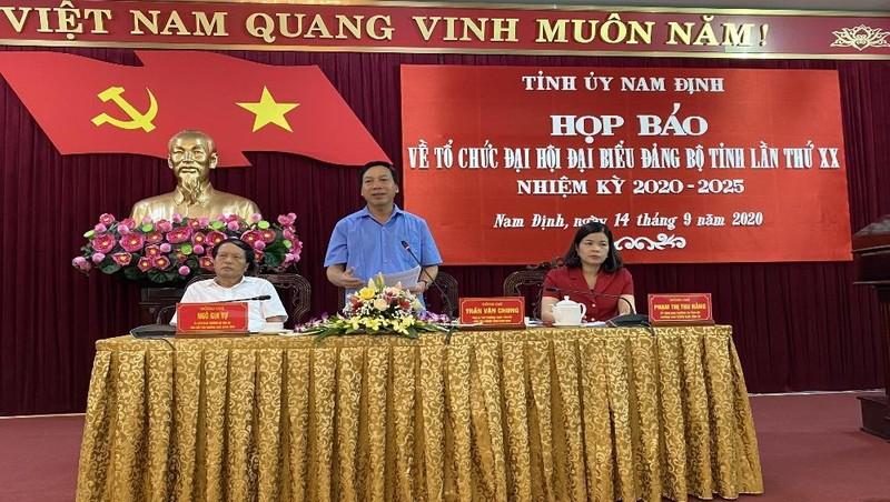 Đại hội đại biểu Đảng bộ tỉnh Nam Định lần thứ XX diễn ra từ ngày 23-26/9.