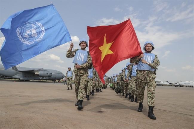 """Tự hào những chiến sĩ """"Mũ nồi xanh"""" giữ hòa bình, mang hình ảnh Việt Nam ra thế giới"""