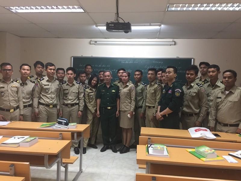 Người cựu chiến binh vun đắp tình hữu nghị Việt Nam - Campuchia