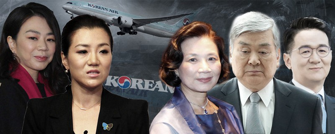 """Gia tộc """"tai tiếng"""" Korean Air Bị bủa vây bởi bê bối gây rúng động Hàn Quốc"""