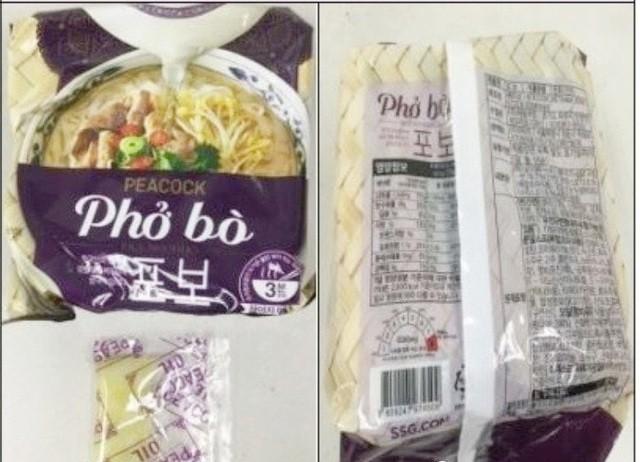 Vụ phở bò ăn liền Peacock bị thu hồi: E-Mart Hàn Quốc hoàn tiền cho người tiêu dùng