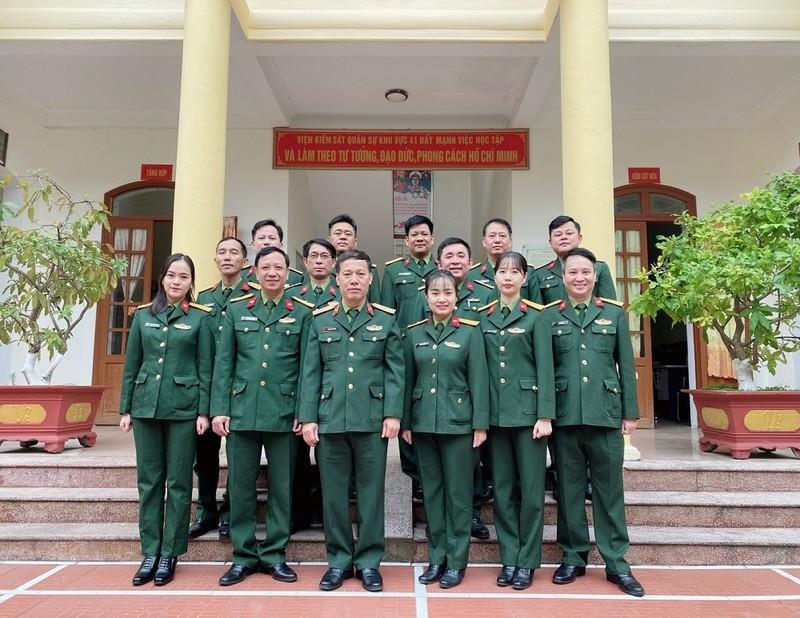 Viện Kiểm sát Quân sự Khu vực 41 từng bước xây dựng và trưởng thành
