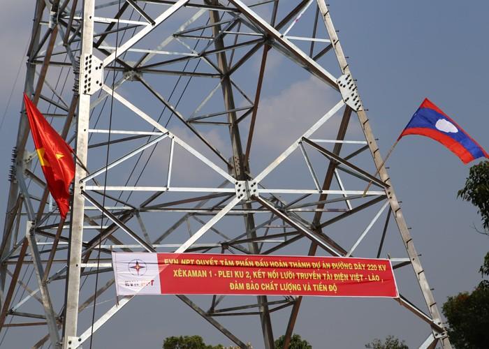 Tăng cường năng lực lưới truyền tải để nhập điện từ Lào