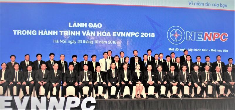 Tập thể EVNNPC với gần 3 vạn người lao động, đang hành động theo tinh thần ONENPC