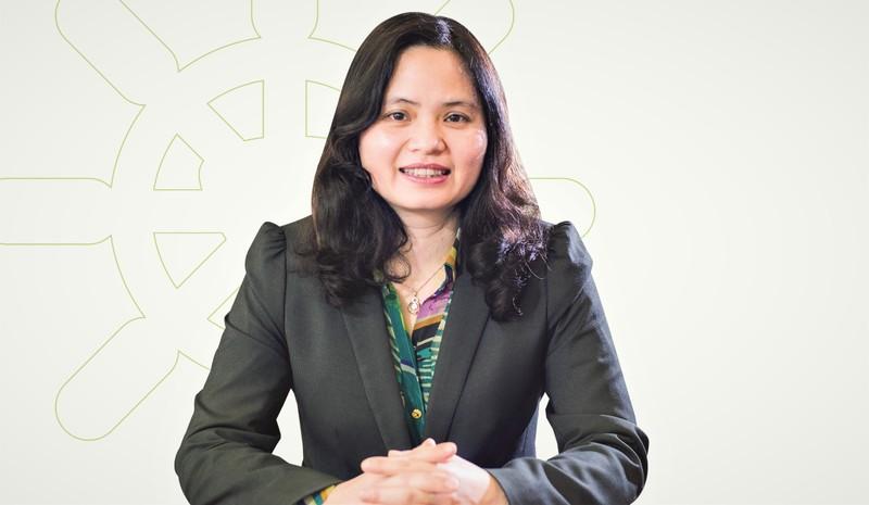 """Phó Tổng Giám đốc Vietcombank Đinh Thị Thái: """"KTNB độc lập với các chi nhánh nên khắc phục được bất cập mô hình tổ chức của Kiểm tra giám sát tuân thủ trước đây"""""""