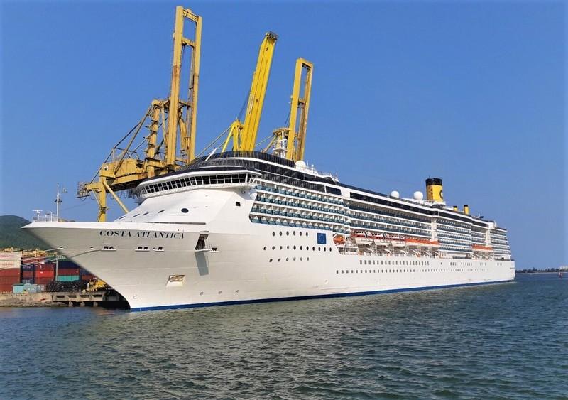 Năm 2019, Cảng Tiên Sa đón nhiều chuyến tàu du lịch, trong đó có các tàu cỡ lớn như Costa Atlantica