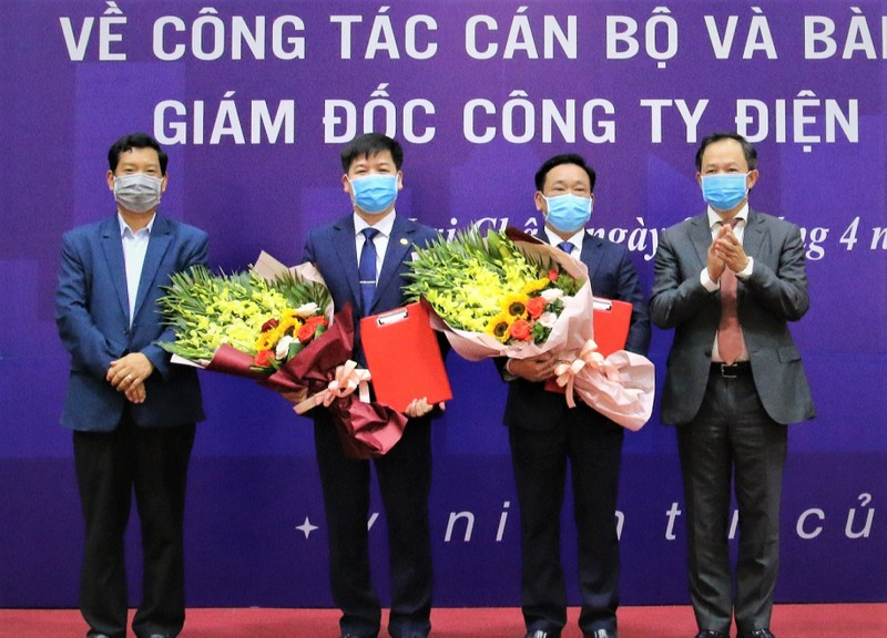 Chủ tịch EVNNPC Thiều Kim Quỳnh công bố quyết định điều động bổ nhiệm Giám đốc PC Lai Châu