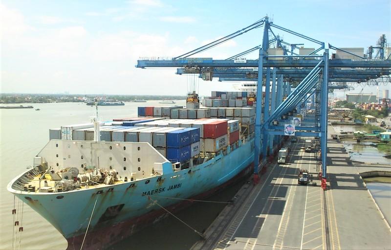 Tân Cảng Cát Lái - cảng container quốc tế hiện đại và lớn nhất Việt Nam