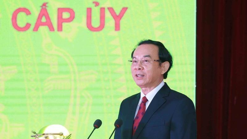 Đồng chí Nguyễn Văn Nên - Bí thư Thành ủy TP HCM khóa XI, nhiệm kỳ 2020-2025.