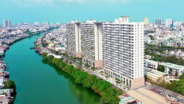 Diamond Lotus Riverside là dự án công trình xanh tốt nhất 2020