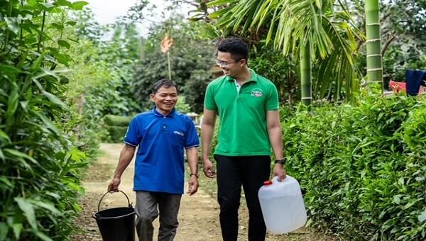 Huda tiếp tục triển khai 5 dự án hỗ trợ hàng ngàn người dân miền Trung tiếp cận nước sạch