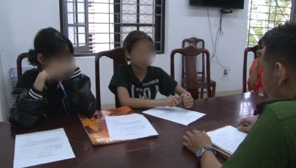 Làm rõ về clip 2 thiếu nữ đánh nhau trên đường phố Huế