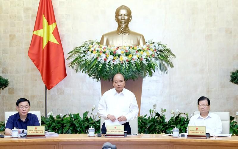 Thủ tướng Chính phủ Nguyễn Xuân Phúc chủ trì phiên họp Chính phủ ngày 16/8/2018