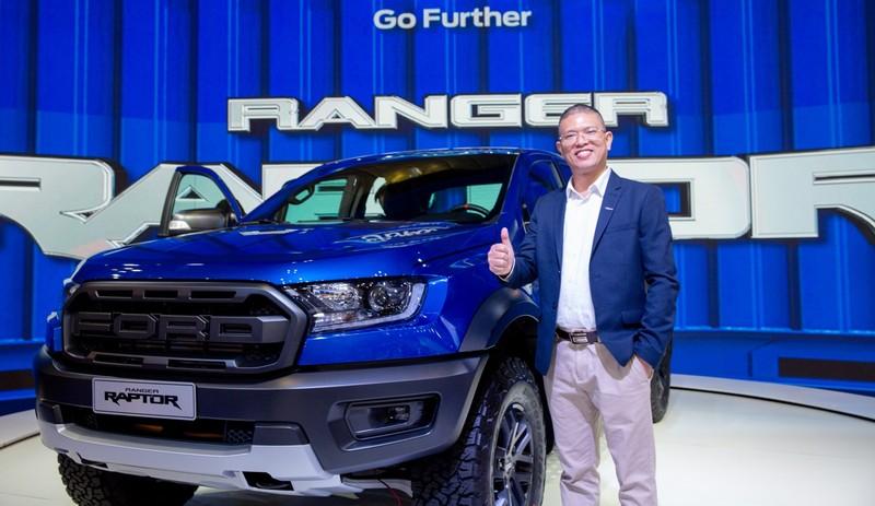 Ford Ranger Raptor trình làng tại Vietnam Motor Show 2018