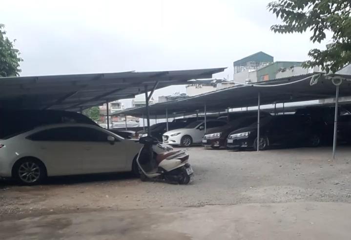 Một bãi xe ở quận Hoàng Mai (ảnh minh họa)