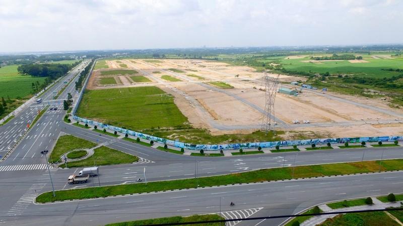 Hạ tầng khu đô thị thương mại Tân Phú đã được chủ đầu tư hoàn thiện