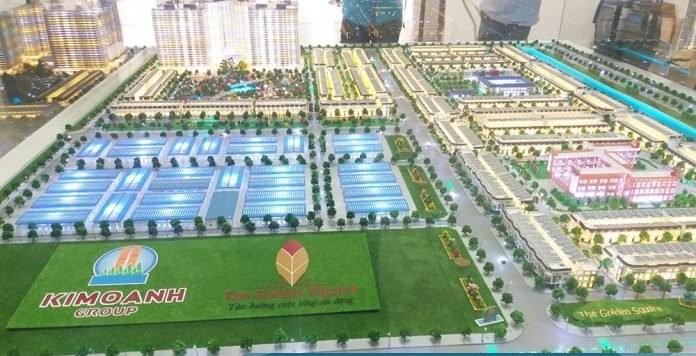 Phối cảnh dự án khu đô thị dịch vụ Hòa Phú do Công ty Kim Oanh đầu tư