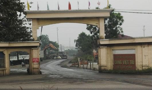 Cảng Việt Trì, Phú Thọ. Ảnh: Xuân Hồng.