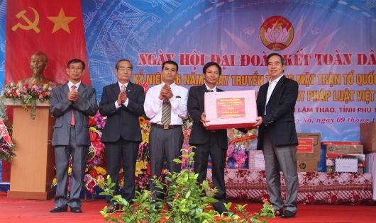 Phú Thọ tưng bừng Ngày hội Đại đoàn kết toàn dân tộc