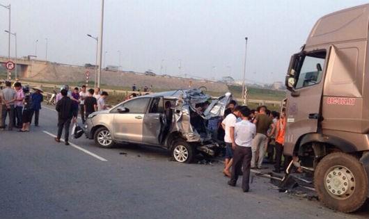 Khởi tố vụ án tai nạn giao thông 4 người chết tại cao tốc Hà Nội-Thái Nguyên