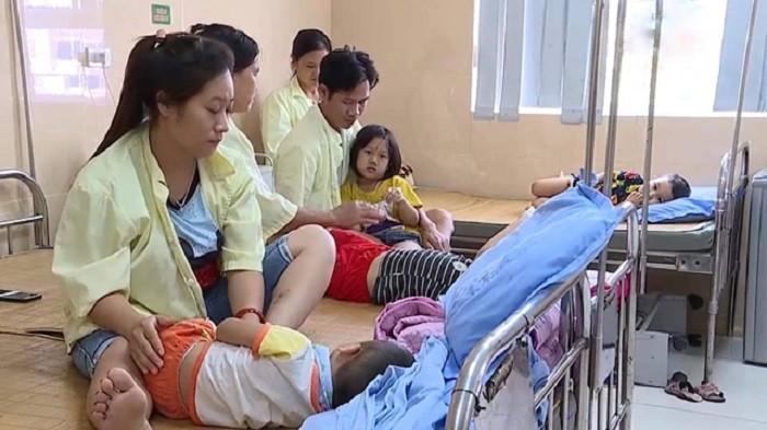 80 trẻ mầm non nhập viện nghi do ngộ độc thực phẩm