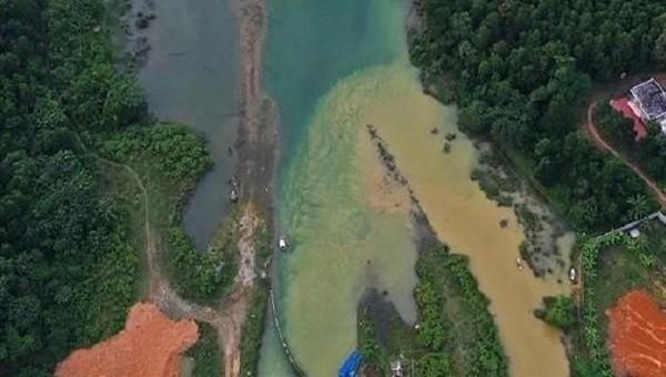 Hà Nội yêu cầu Viwasupco không xả thải ra suối Đồng Bãi
