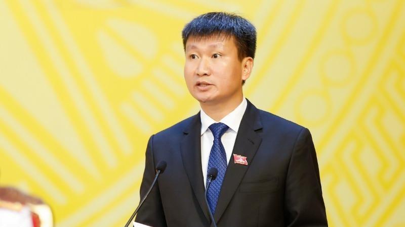 Chủ tịch UBND tỉnh Yên Bái Trần Huy Tuấn.