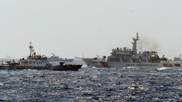 137 tàu Trung Quốc vẫn bao quanh giàn khoan Hải Dương 981