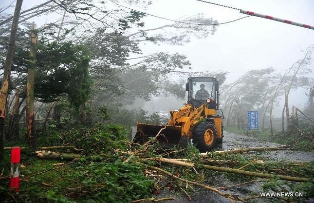 Rammasun - cơn bão mạnh nhất đổ bộ vào  Hải Nam trong 40 năm qua