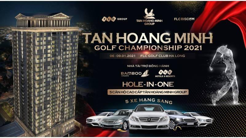 Phần thưởng HIO cực lớn tại Tân Hoàng Minh Golf Championship 2021