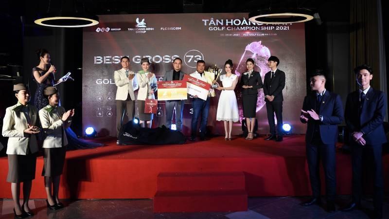 Tân Hoàng Minh Golf Championship 2021 khép lại đầy ấn tượng