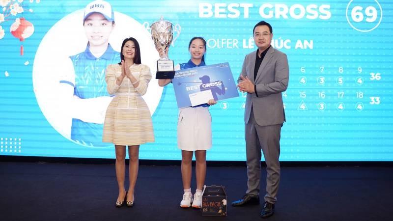 Golfer trẻ Lê Chúc An lên ngôi vô địch FCA Spring Golf Tournament